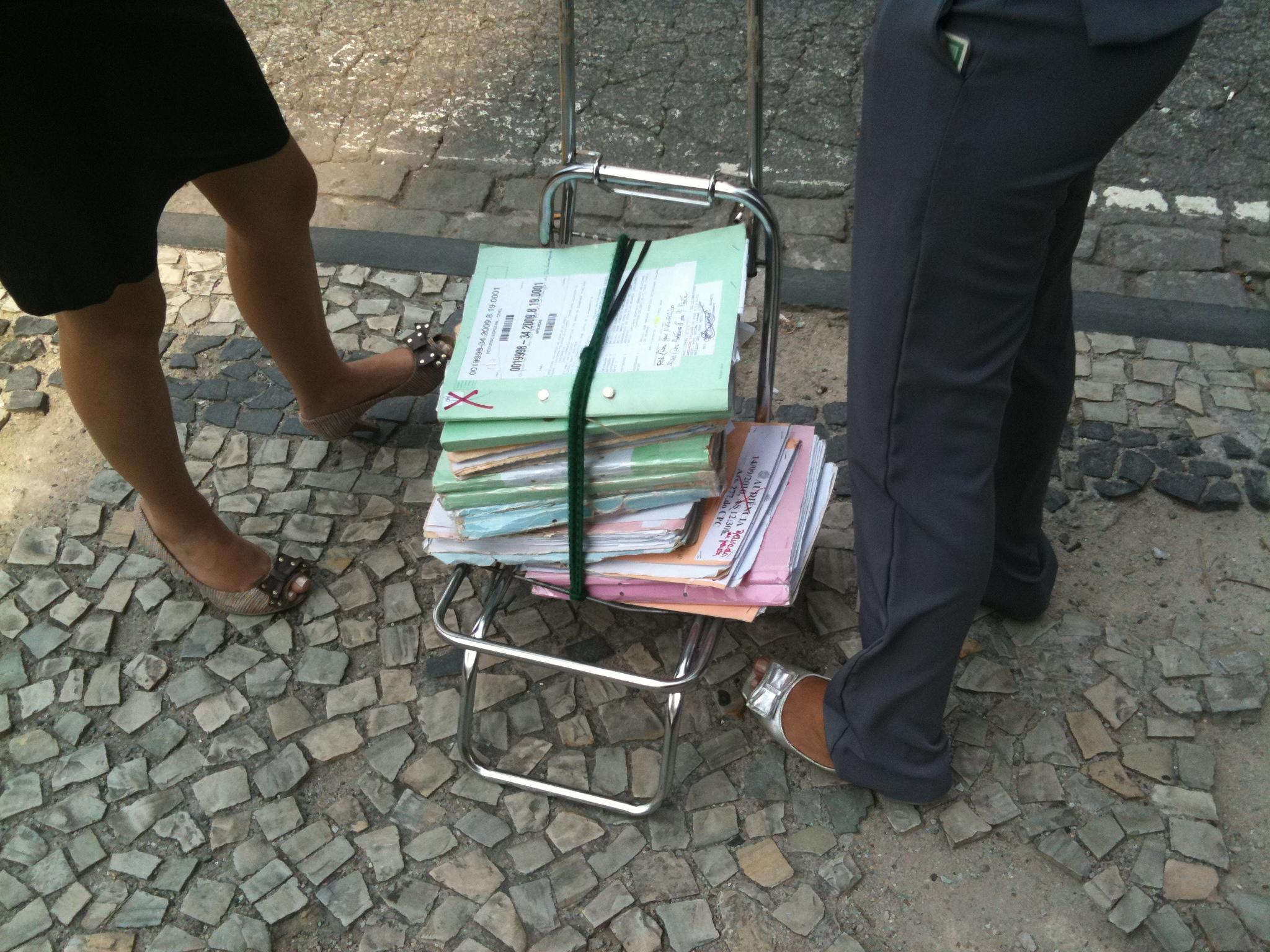 Quando a segurança de seu documento é a faixa de pedestre
